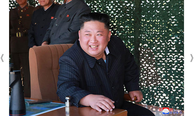 777e3728a7e Kim Jong Un, Chairman of the Workers' Party of Korea, Chairman of the State  Affairs Commission of the DPRK and Supreme Commander of the armed forces of  the ...